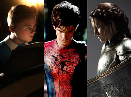 Snow White and the Huntsman, Spiderman, The Adventures of Tintin