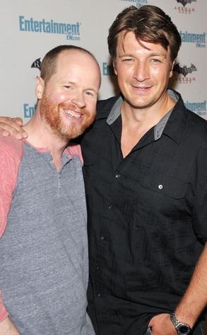Comic-Con, Joss Whedon, Nathan Fillion