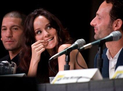 Jon Bernthal, Sarah Wayne Callies, Andrew Lincoln, Comic-Con