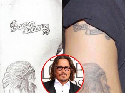 winona forever tattoo