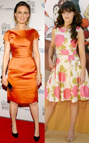 Emily Deschanel, Zooey Deschanel