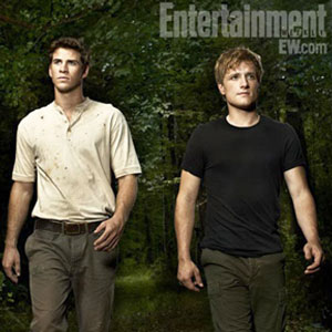 EW, Liam Hemsworth, Josh Hutcherson, Hunger Games
