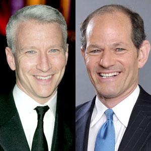 Anderson Cooper, Eliot Spitzer