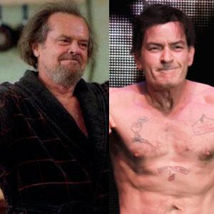 Jack Nicholson, Anger Management, Charlie Sheen