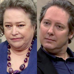 Kathy Bates, James Spader, The Office