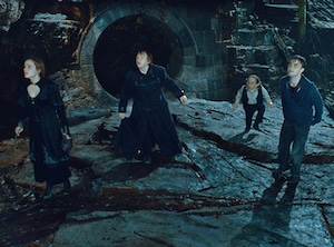 Harry Potter and the Deathly Hallows Part 2, Daniel Radcliffe, Emma Watson, Rupert Grint, Warwick Davis