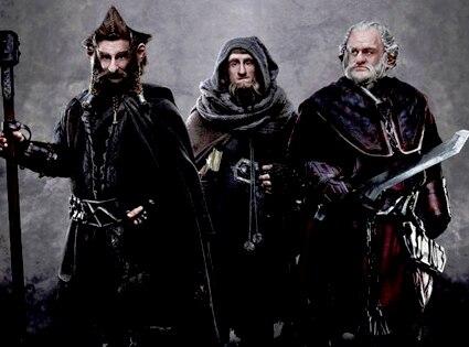 Jed Brophy, Adam Brown, Mark Hadlow in The Hobbit: An Unexpected Journe