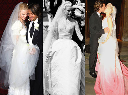 Nicole Kidman, Gwen Stefani and More: Spy Stars\' Memorable Wedding ...