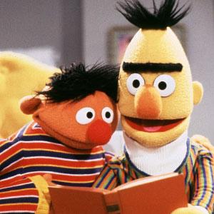 Ernie, Bert, Sesame Street