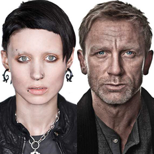 The Girl with the Dragon Tattoo Character Photos, Ronney Mara, Daniel Craig