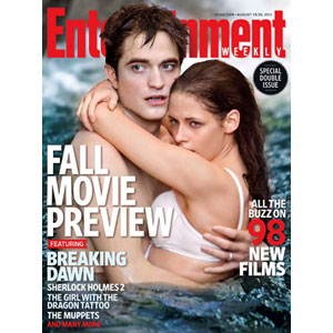 Entertainment Weekly, Robert Pattinson, Kristen Stewart