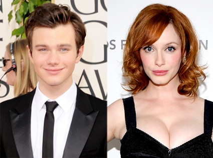 Chris Colfer, Christina Hendricks