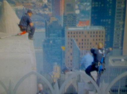 Rockefeller Plaza Jumper