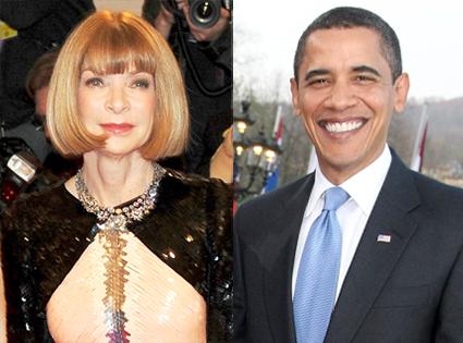 Anna Wintour, Barack Obama