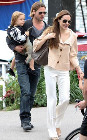 Angelina Jolie, Brad Pitt, Knox