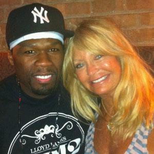 50 Cent, Goldie Hawn