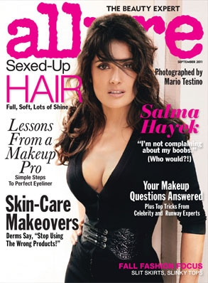 Salma Hayek, Allure Cover