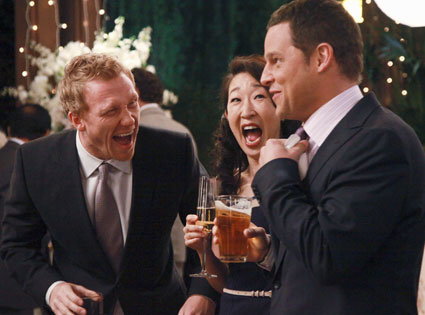 Grey's Anatomy, KEVIN MCKIDD, SANDRA OH, JUSTIN CHAMBERS
