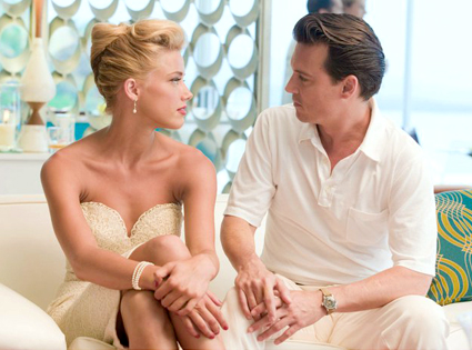 Amber Heard, Johnny Depp, The Rum Diary