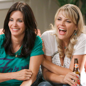 Busy Philipps, Courteney Cox