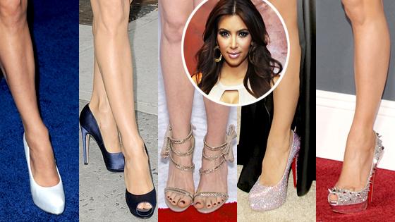 Eva Longoria, Anne Hathaway, Heidi Klum, Jennifer Lopez, Shoes, Kim Kardashian