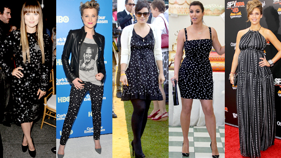 Olivia Wilde, Evan Rachel Wood, Lily Allen, Kim Kardashian, Jessica Alba