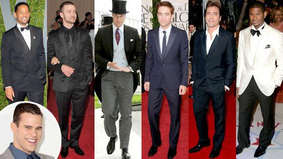 Will Smith, Justin Timberlake, Prince William, Robert Pattinson, Javier Bardem, Usher, Kris Humphries