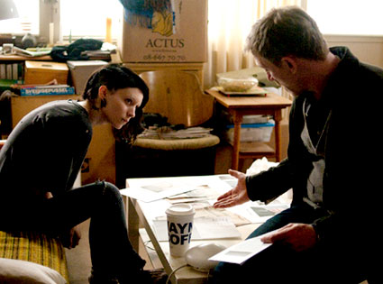 Rooney Mara, Daniel Craig, The Girl with the Dragon Tattoo