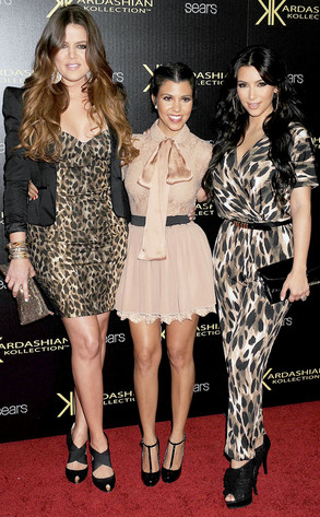 Khloe Kardashian Odom, Kourtney Kardashian, Kim Kardashian