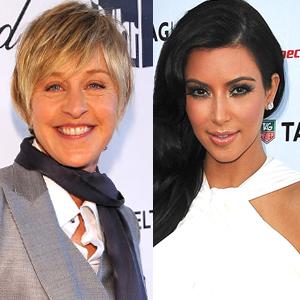Ellen Degeneres, Kim Kardashian