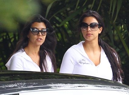 Kourtney Kardashian, Kim Kardashian, Wedding Day