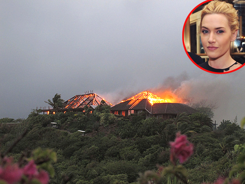 Kate Winslet, Richard Branson house