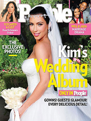 Kim Kardashian, People Cover