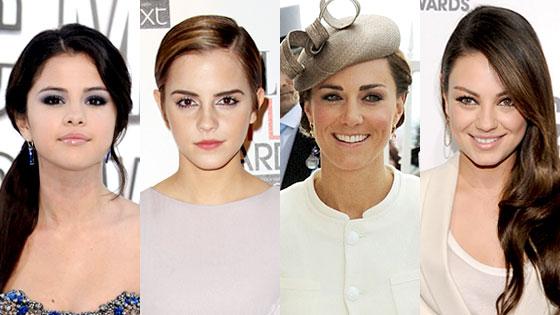 Selena Gomez, Emma Watson, Kate Middleton, Mila Kunis, Queens of Summer
