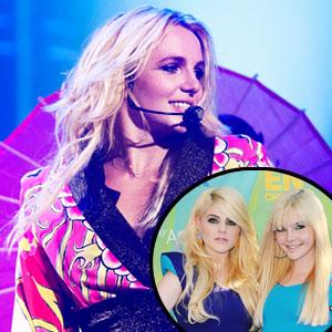 Destinee Monroe, Paris Monroe, Britney Spears