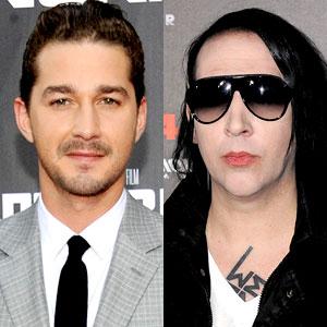 Shia LaBeouf, Marilyn Manson