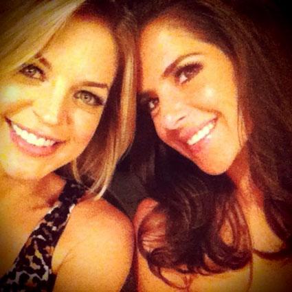 Kirsten Storms, Kelly Monaco, Twitter
