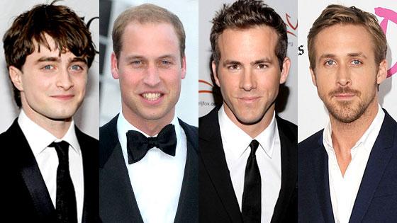 Daniel Radcliffe, Prince William, Ryan Reynolds, Ryan Gosling, Kings of Summer