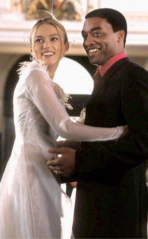 Love Actually, Keira Knightley, Chiwetel Ejiofor