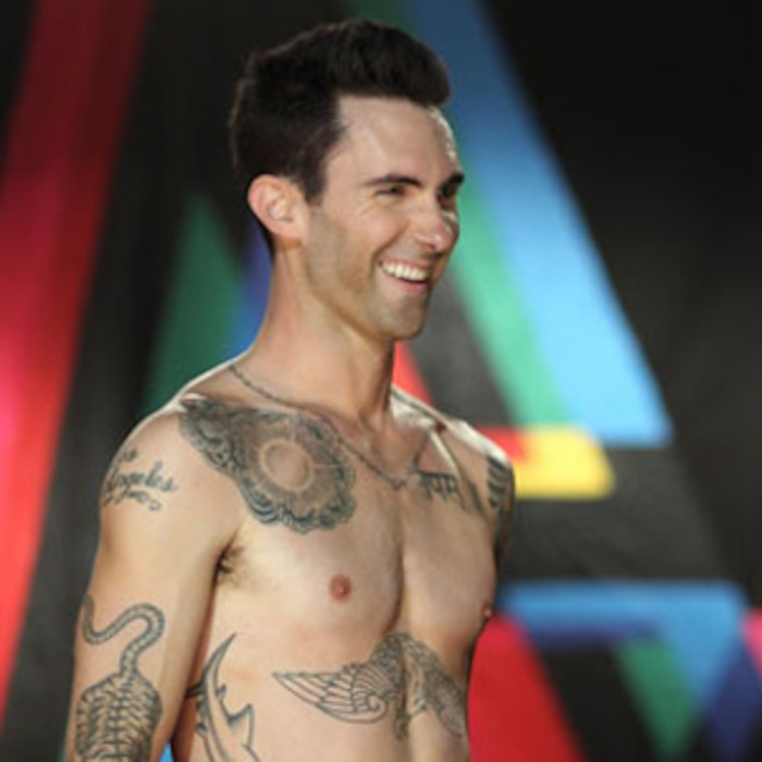 5d8406e758 Maroon 5 s Moves Like Jagger Video Featuring Christina Aguilera   Adam  Levine s Abs