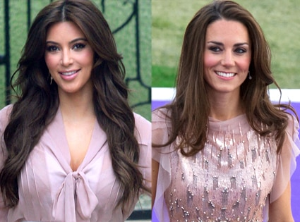 Kim Kardashian, Duchess Catherine, Kate Middleton