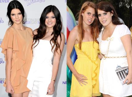 Kendall Jenner, Kylie Jenner, Beatrice, Eugenie