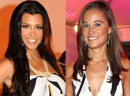 Kourtney Kardashian, Pippa Middleton