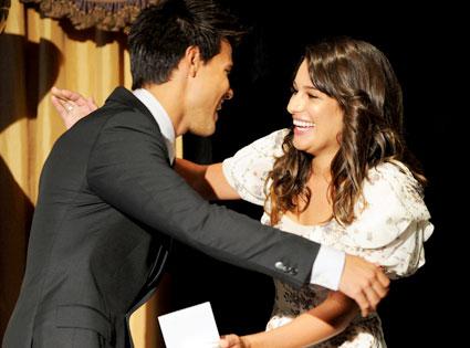 Taylor Lautner, Lea Michele