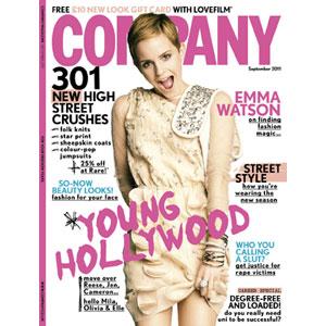 EMMA WATSON, COMPANY MAGAZINE Cover