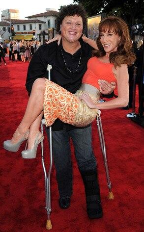 Glee Premiere, Dot Jones, Kathy Griffin