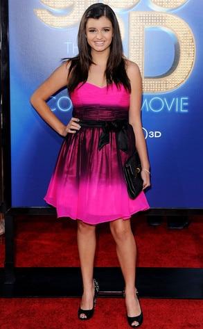Rebecca Black, Glee Premiere