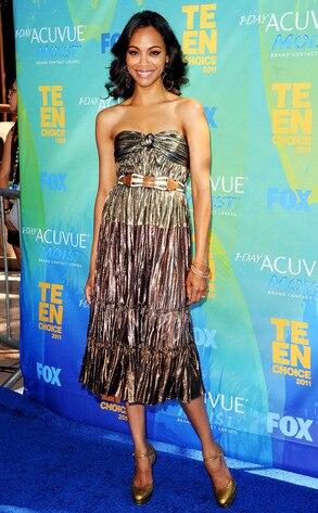 Teen Choice Awards, Zoe Saldana