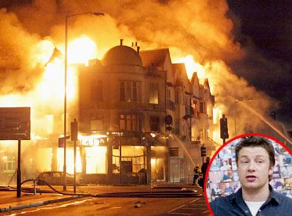 London Riots, Jamie Oliver