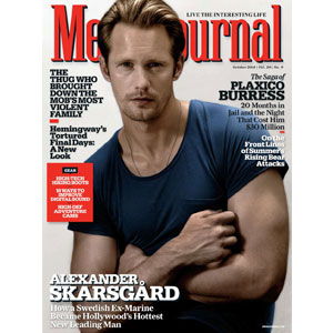 Alexander Skarsgard, Men's Journal